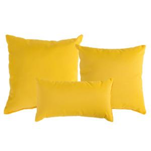 Sunflower Yellow Sunbrella Outdoor Pillow