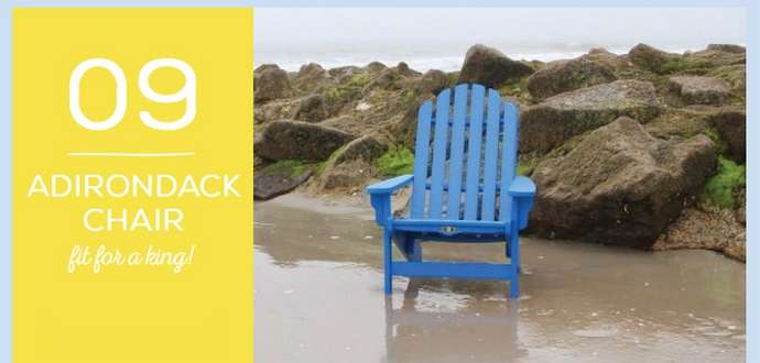 Father's Day Gift 9: Adirondack Chair