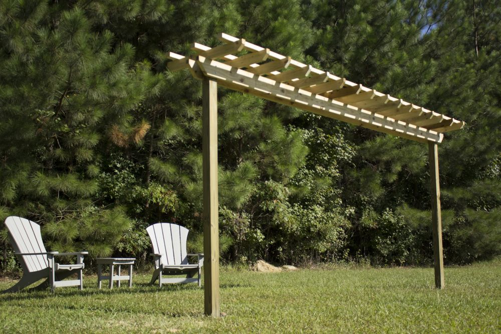 diy-pergola-hammock-stand-with-carpentry-work-completed-pre-stain