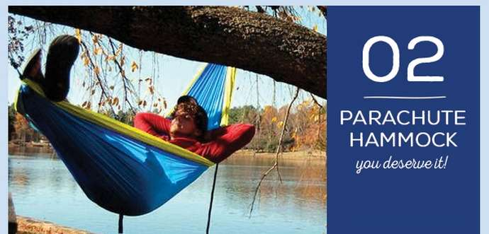 Father's Day Gift 2: Parachute Camping Hammock