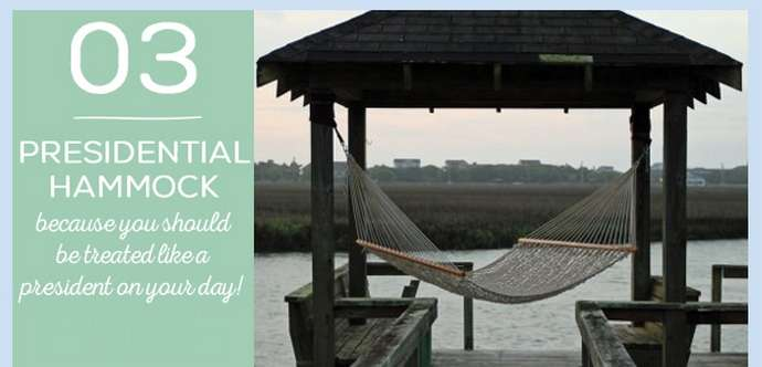 Father's Day Gift 3: Presidential Pawleys Island Hammock