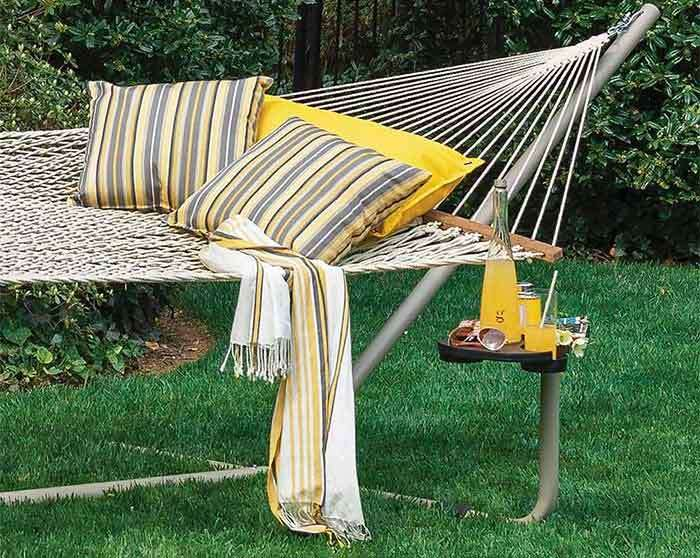 yellow-and-gray-style-combination-hammock-backyard